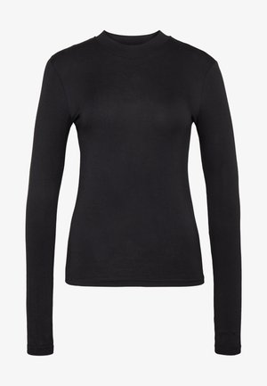 HIGHNECK TOP - Longsleeve - black