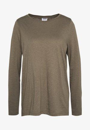 NMMIKA MATHILDE - T-shirt à manches longues - kalamata