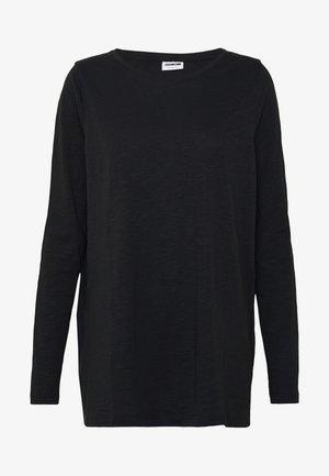 NMMIKA MATHILDE - Pitkähihainen paita - black