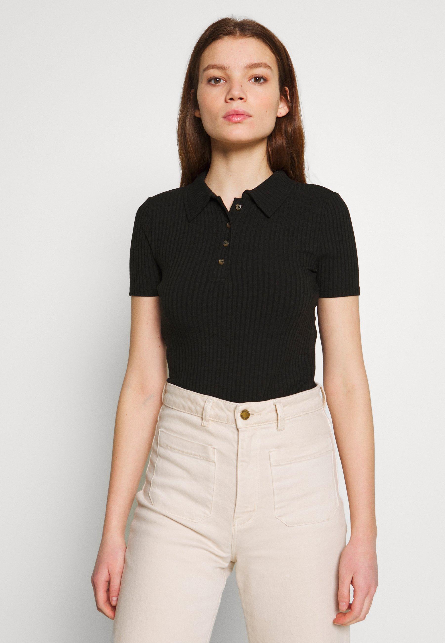 Noisy May NMSULE  - Koszulka polo - black