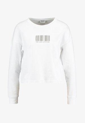 NMODESSA - Longsleeve - bright white/black