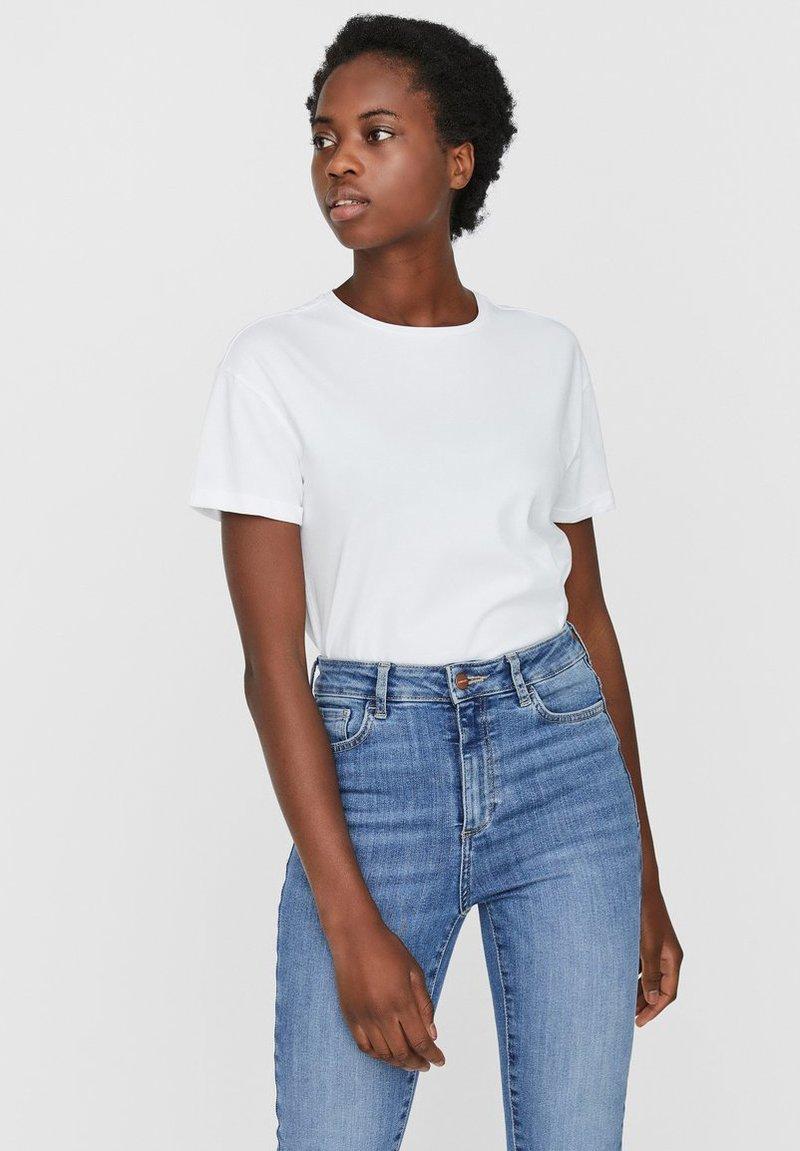 Noisy May - T-shirt - bas - bright white