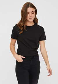 Noisy May - T-shirts basic - black - 0