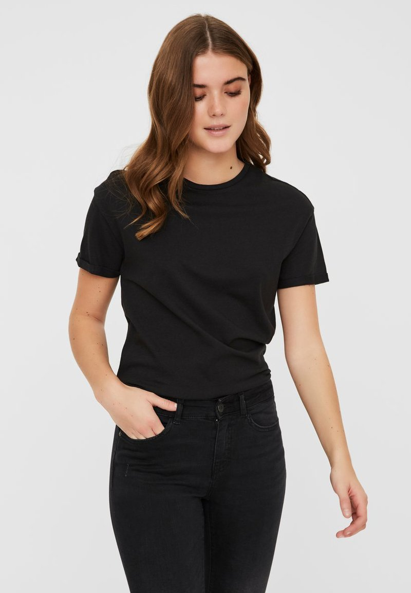 Noisy May - T-shirts basic - black