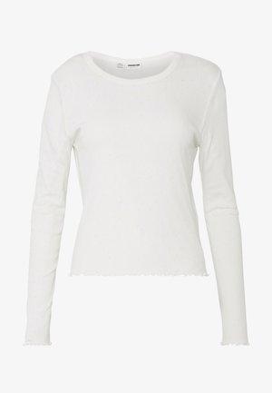 NMANGALA  - Langærmede T-shirts - sugar swizzle