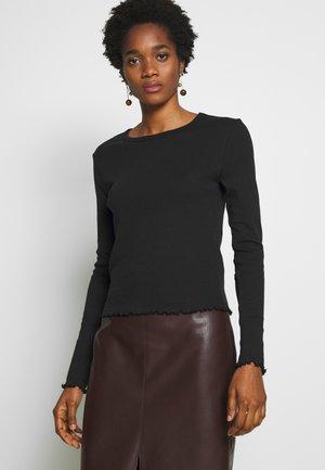 NMANGALA  - T-shirt à manches longues - black