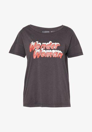 NMLICIE COMMAND - T-shirt z nadrukiem - black
