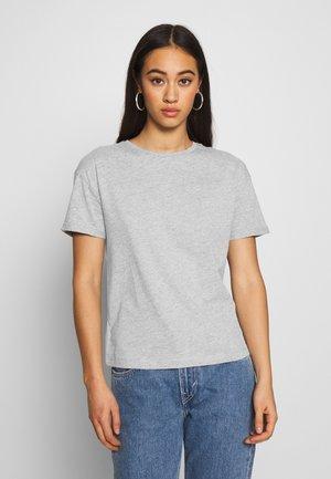 NMBRANDY TOP - T-shirt - bas - light grey melange