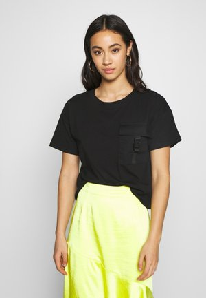 NMSUMMER - T-shirt con stampa - black