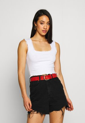 NMANNA CROPPED  - Top - bright white
