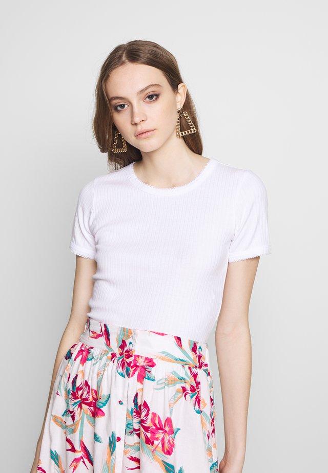 NMDIVA - T-shirts basic - bright white