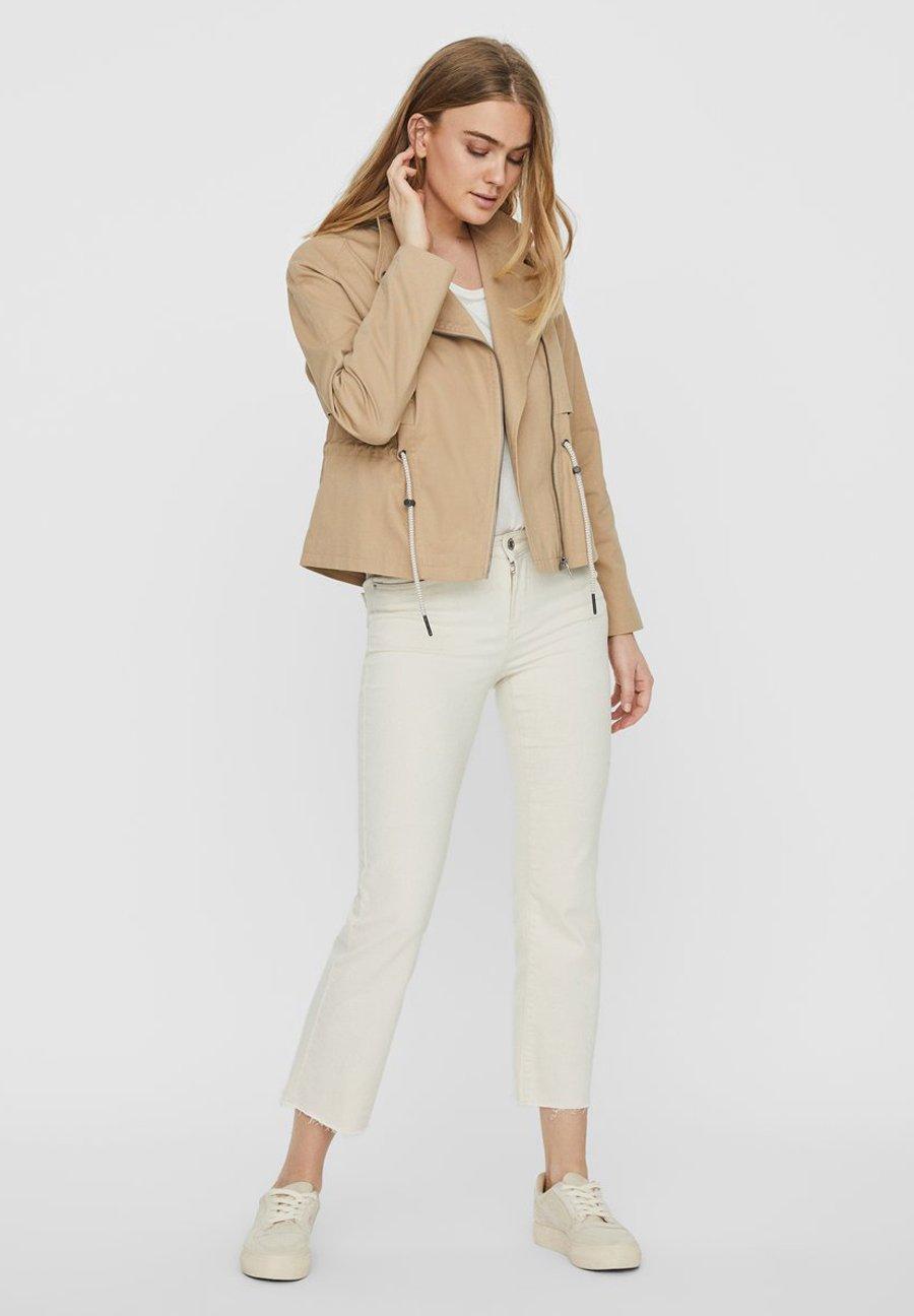 Noisy May NOISY MAY JACKE KURZE - Summer jacket - beige