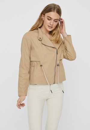 NOISY MAY JACKE KURZE - Summer jacket - beige