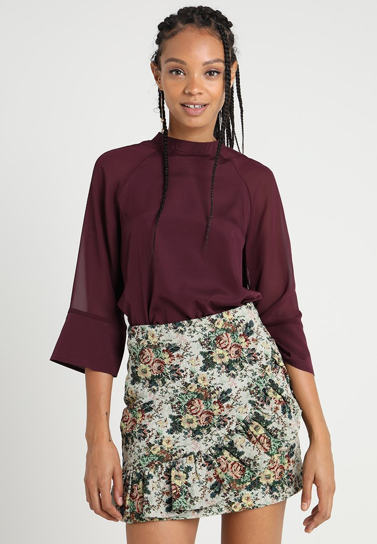 Noisy May - NMSHEER - Bluse - port royale