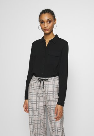 NMKEKE ZALA - Button-down blouse - black