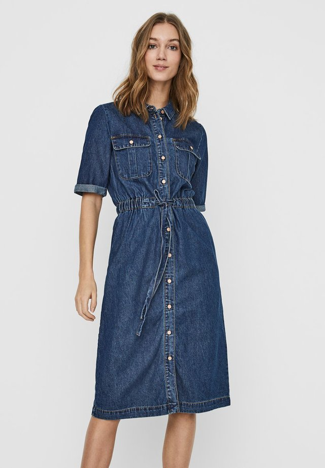 Denim dress - medium blue
