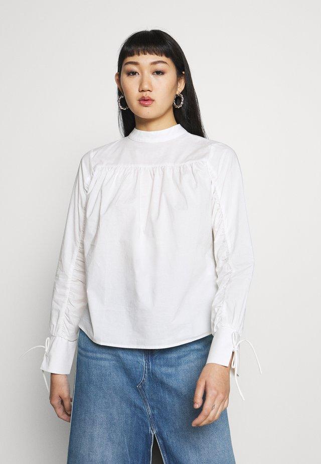 NMINA DETAIL - Bluzka - bright white
