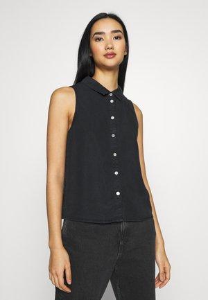 NMDANNY ENDI - Button-down blouse - black