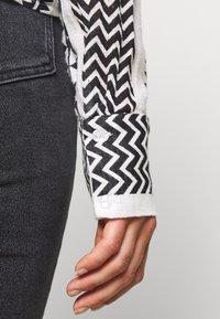 Noisy May - NMAZRA - Button-down blouse - black/white - 5