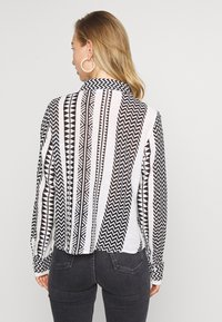 Noisy May - NMAZRA - Button-down blouse - black/white - 2