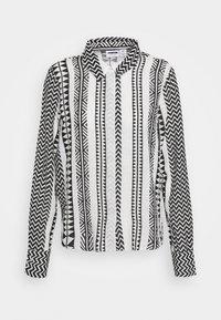 Noisy May - NMAZRA - Button-down blouse - black/white - 4