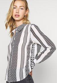 Noisy May - NMAZRA - Button-down blouse - black/white - 3