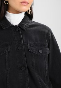 Noisy May - NMOLE JACKET - Farkkutakki - black - 4