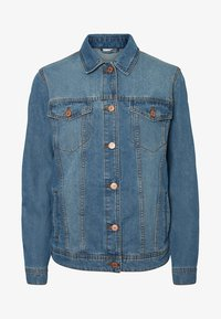 Noisy May - Jeansjakke - medium blue denim - 3