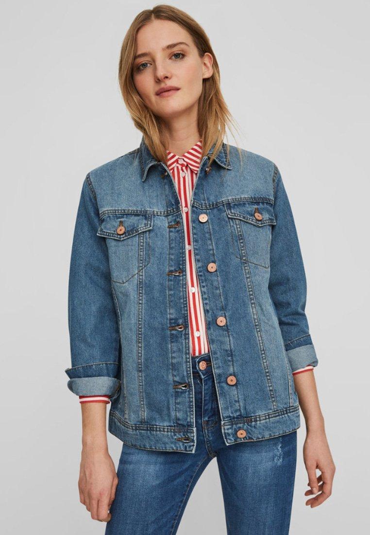 Noisy May - Denim jacket - medium blue denim