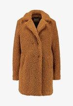 NMGABI - Zimní kabát - brown sugar