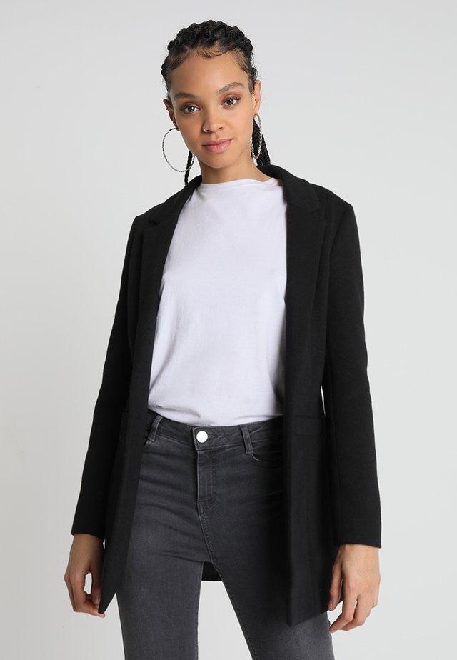 NMREKA LONG - Krótki płaszcz - black