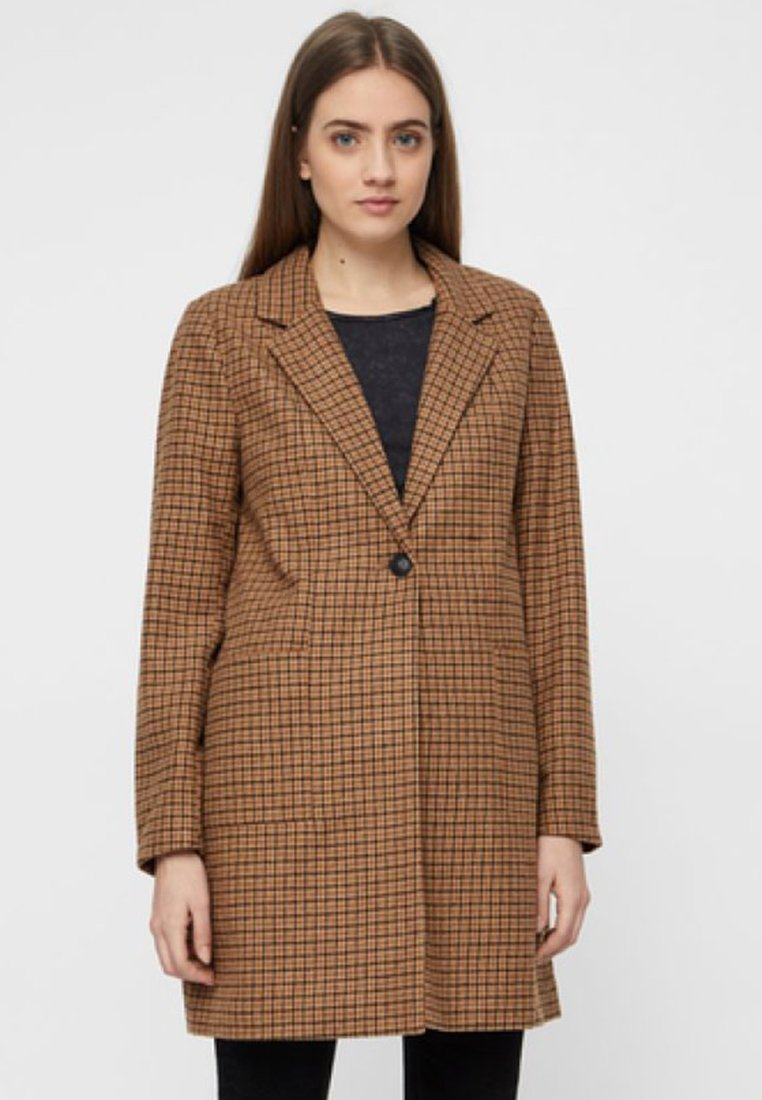Classique Brown Noisy CoatManteau May Nmjohnny 5j4ALRq3