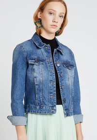 Noisy May - NMADA JACKET VI024MB  - Jeansjakke - medium blue denim - 0