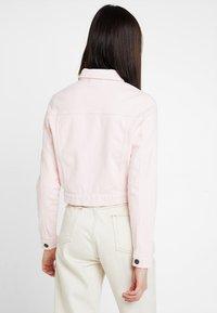 Noisy May - Kurtka jeansowa - barely pink - 2