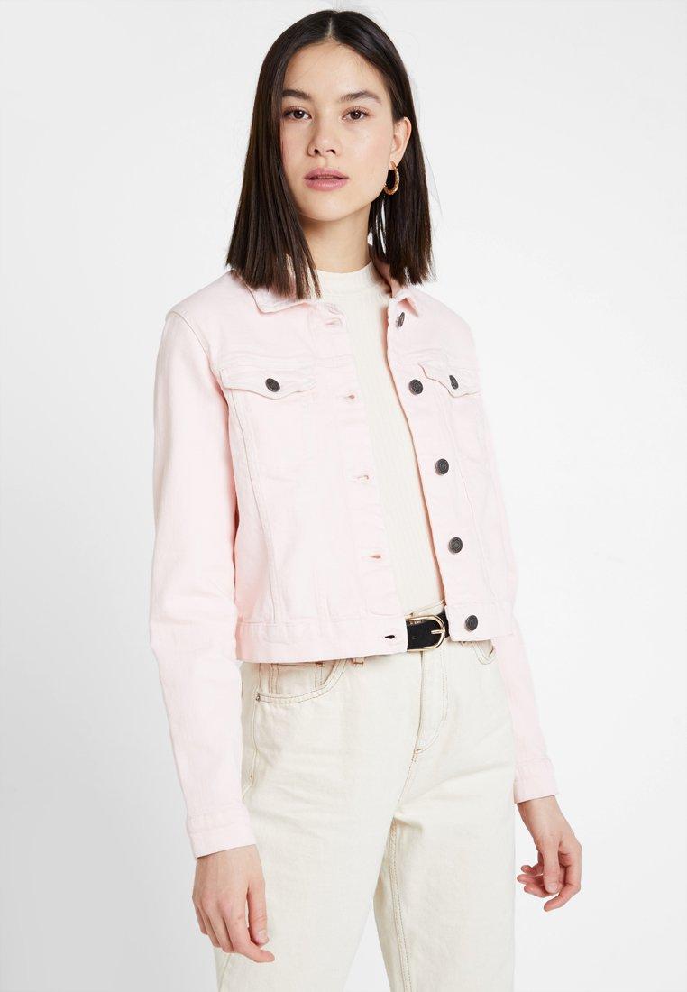 Noisy May - Kurtka jeansowa - barely pink