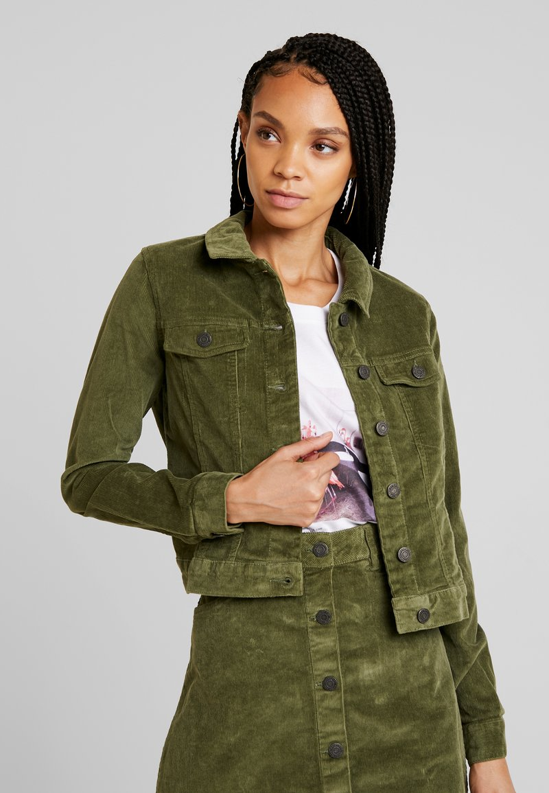 Noisy May - NMADA JACKET  - Chaqueta fina - olivine