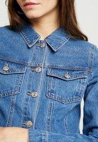Noisy May - Jeansjakke - medium blue denim - 5
