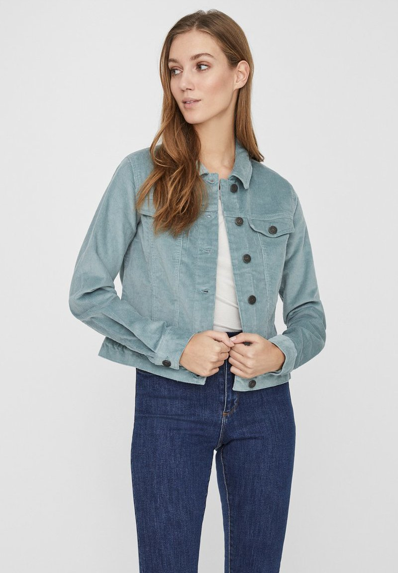 Noisy May - JACKE KORDSAMT - Summer jacket - slate