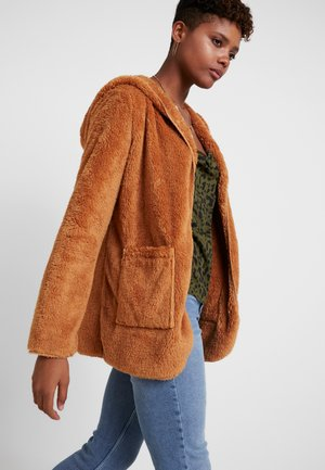 Bomber Jacket - brown sugar