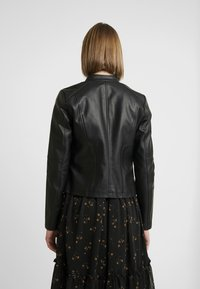 Noisy May - NMDACY JACKET - Faux leather jacket - black - 2