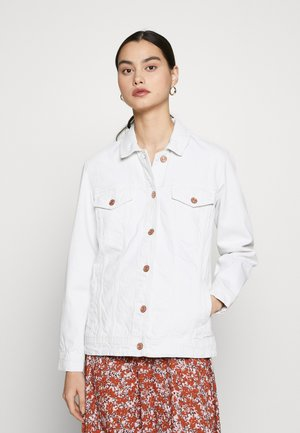 NMOLE JACKET - Denim jacket - bright white