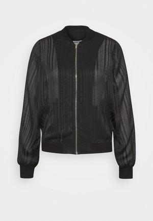 NMMESHY - Bomber Jacket - black