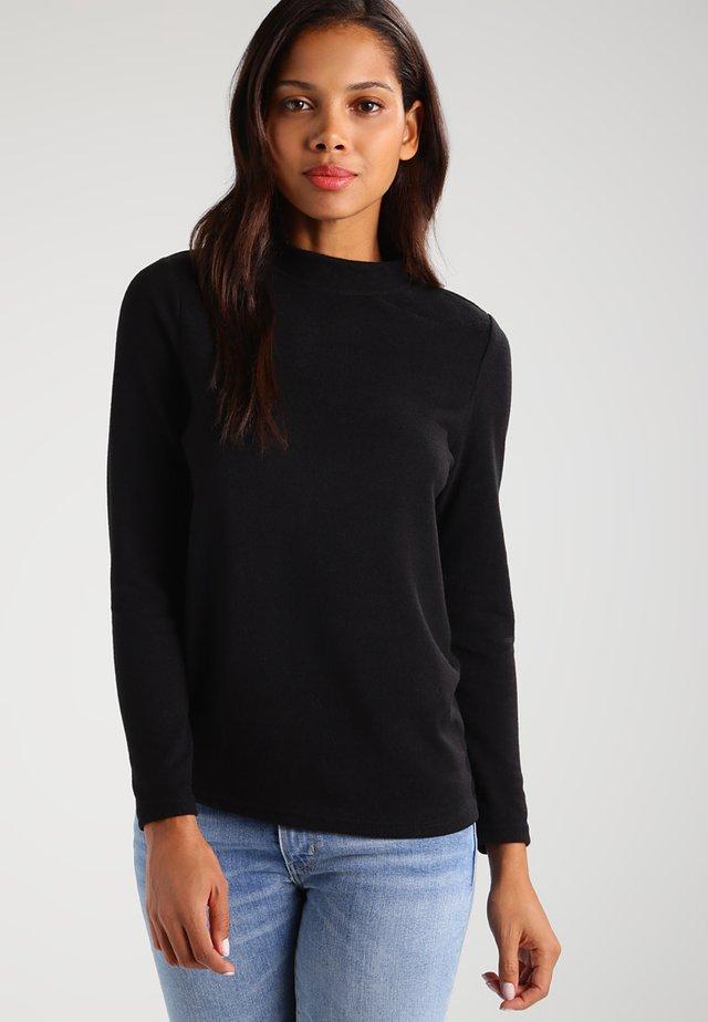 NMCITY HIGH NECK - Jersey de punto - black