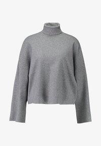 Noisy May - NMSHIP ROLL NECK - Pullover - medium grey - 3