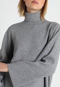 Noisy May - NMSHIP ROLL NECK - Pullover - medium grey - 4