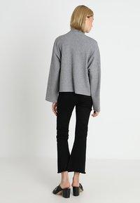 Noisy May - NMSHIP ROLL NECK - Pullover - medium grey - 2