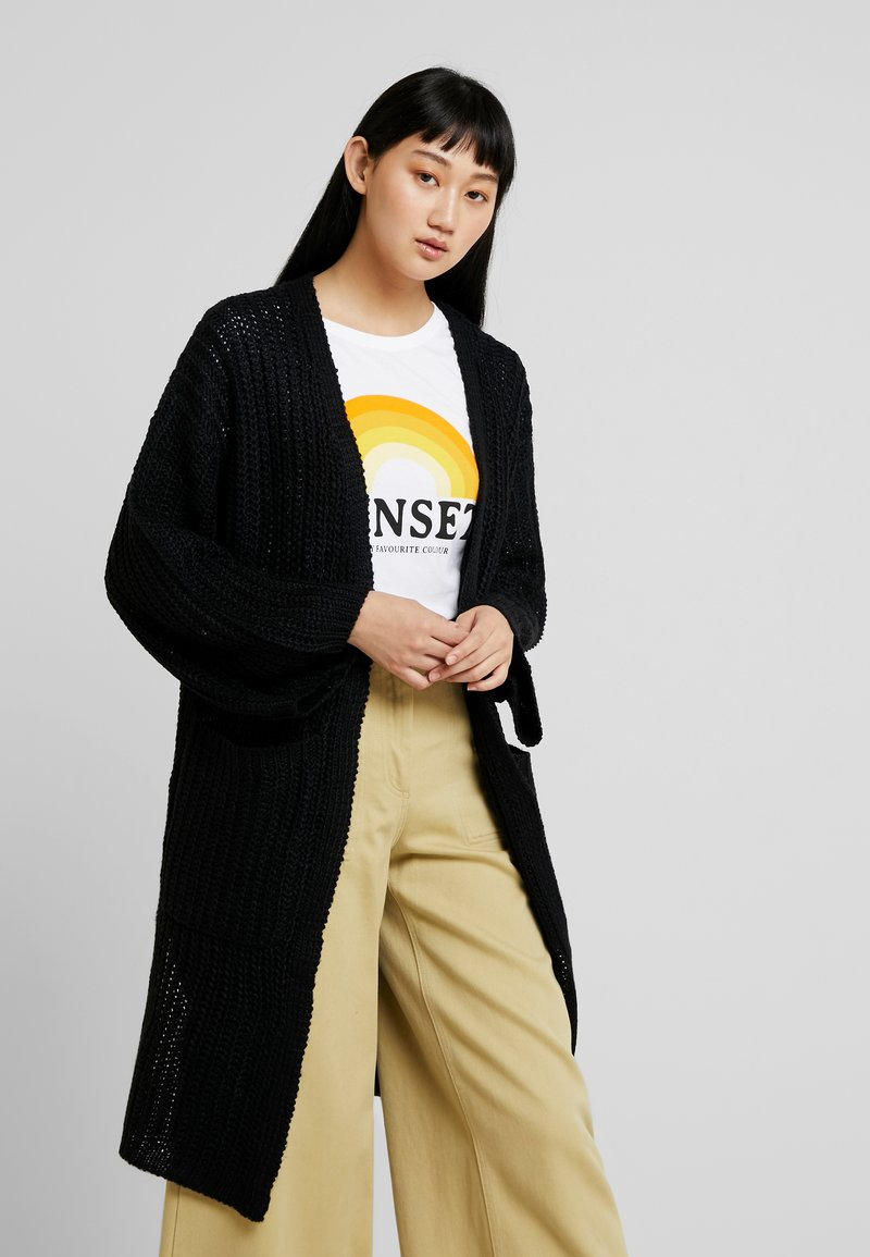 Noisy May - NMLIAM - Strickjacke - black