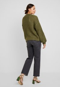 Noisy May - Cardigan - olivine - 2