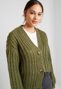 Noisy May - Cardigan - olivine - 3