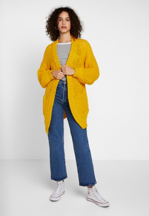 Strickjacke - golden rod